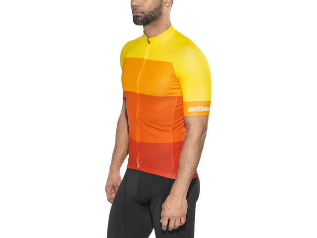 Red Cycling Products Colorblock Race Maillot de cyclisme Homme, red-yellow